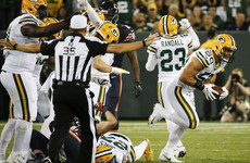 Packers brush off injuries and 40-minute weather delay to dominate the Bears