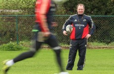 Homeward bound: Munster boss Tony McGahan heading back to Oz