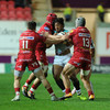 Connacht give champions a scare, but lose 9-try shootout with Scarlets
