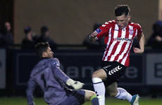 McDermott double seals Drogheda's drop as Candystripes close in on Europe