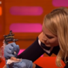 Margot Robbie tattooed the foot of a fan on The Graham Norton Show last night