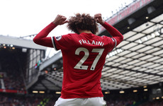 Brilliant Fellaini double inspires United to emphatic win against desperate Palace