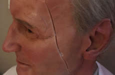 Pope John Paul II has been removed from Dublin's Wax Museum for repairs after sustaining some damage