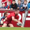 Hanrahan back with a bang to hand Munster bonus point win