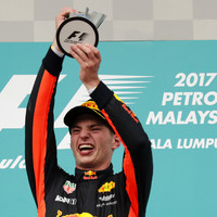 Max Verstappen celebrates 20th birthday with Malaysia Grand Prix win