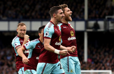 Winning combination! Ward and Hendrick combine to score winner for Burnley