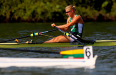 Ireland's Sanita Puspure narrowly misses out on a medal at the Rowing World Championships