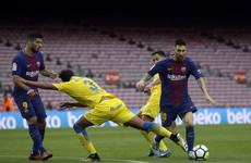 Barcelona win behind closed doors amid referendum turmoil