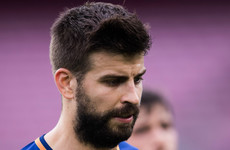 'It was my worst experience as a professional:' Piqué on Barcelona's closed-door win