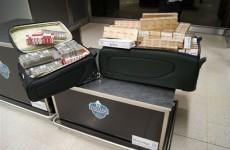 Man arrested over Dublin Airport cigarette seizure