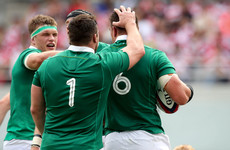 Ireland back up to third in the world rankings ahead of November internationals