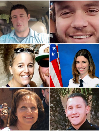 'He saved my life': Tributes pour in as first victims of Las Vegas shooting named