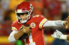 Alex Smith keeps Chiefs unbeaten with dramatic win over Washington