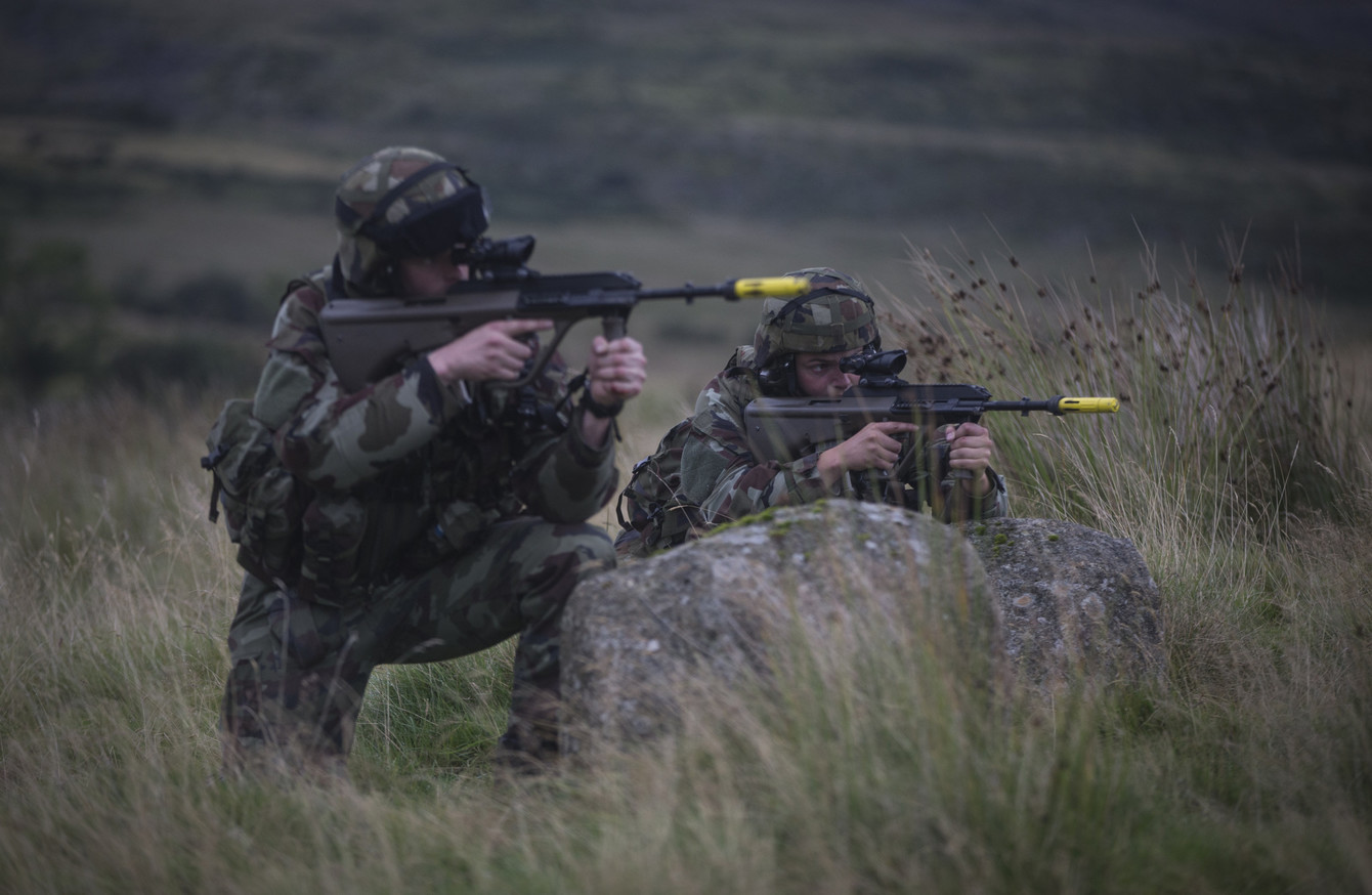 Over 1,000 Defence Forces members bought their way out in