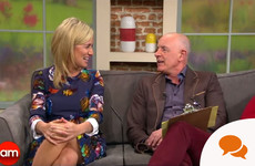 Why you should never turn down a touch of make-up when you're on Ireland AM