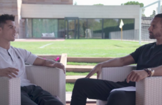 Watch: Former team-mates Ferdinand and Ronaldo sit down for an interview