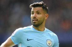 Argentina team doctor says Aguero 'can't move' and will be out for six weeks