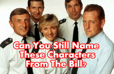 Can You Still Name These Characters From The Bill?