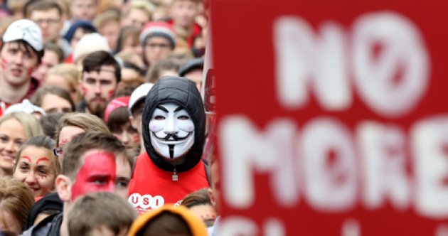 'No ifs, no buts, no education cuts' - Students from across the country march through Dublin