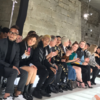 Ruth Negga is hanging out with a serious squad at Paris Fashion Week