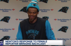 NFL's Cam Newton draws heavy criticism for disrespectful remark to a female reporter