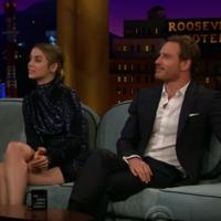 Michael Fassbender pitched his carpool karaoke episode to James Corden