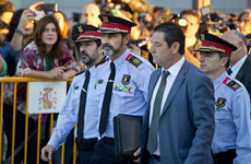 Catalan police chief appears in court over sedition investigation as tensions rise in Spain