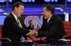 Rick Santorum under fire at Republican debate