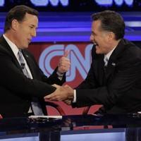 Rick Santorum under fire at Republican debate