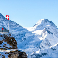 Toddler rescued after being trapped in Swiss Alps crevice for 12 hours