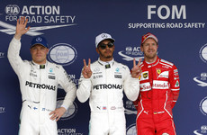 Dominant Hamilton claims Suzuka pole at Japanese Grand Prix