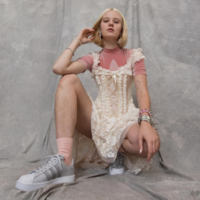 This artist says she received death threats for having hairy legs in an Adidas ad
