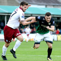 Cherrie saves stoppage-time penalty to earn Bray a point in six-goal thriller