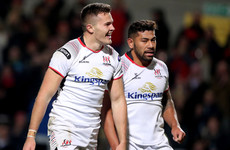 'The advantage of having an All Black beside you': Stockdale reveling in tandem with Piutau
