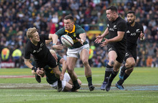 Springboks push All Blacks all the way in thriller but one point the difference in the end