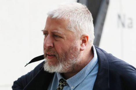 Tom Humphries arriving at court last week