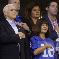 Vice President Mike Pence walks out of NFL game after players kneel for anthem