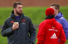 James Cronin back in full Munster training, but Kleyn still a doubt for Castres