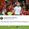 James McClean was offered the 'freedom of Coppers' and his namesake excellently tried to cash in