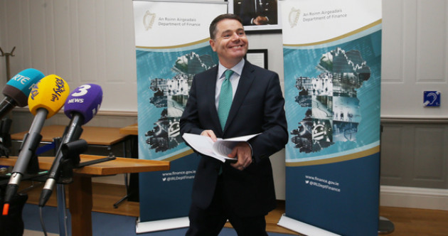 As it happened: A sugar tax, €5 extra for welfare, and a huge plan for housing - Budget 2018 is revealed