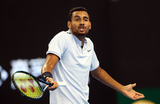 Controversial tennis player Nick Kyrgios storms off court midway through match