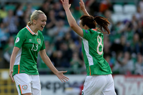 Stephanie Roche and Aine O'Gorman have not been included in the squad.