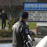 Girl, 8, seriously injured in Washington school shooting