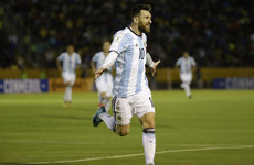 Watch: Lionel Messi hat-trick fires Argentina into World Cup