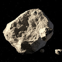 An asteroid the size of your house will give Earth a close shave tomorrow morning