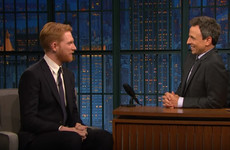 Domhnall Gleeson gave a shoutout to the classic Irish kids book Bran the dog on Late Night with Seth Meyers