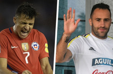 Alexis Sanchez won't be at the World Cup after Arsenal team-mate's bizarre blunder