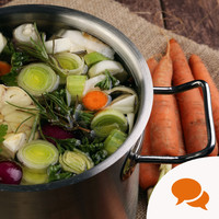 "'October is ""stock pot"" month when carrots, leeks and parsnips come into their own'"