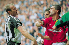 'He was waiting for me at the top of the tunnel': Shearer on that Keane punch