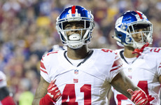 Giants' season somehow finds lower ebb as star cornerback is suspended indefinitely